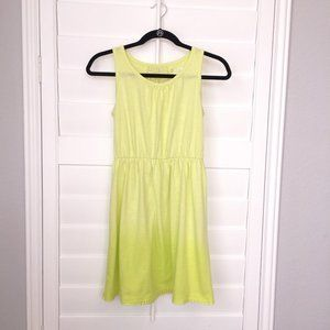 Cherokee Lime Green Ombre Dress